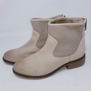 Aldo Ankle Boots Back Zip-Up Size 7.5 Booties